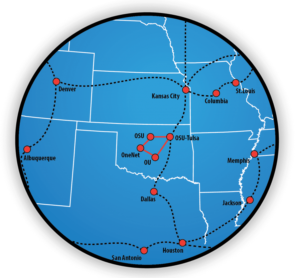 OneNet's 100G Network