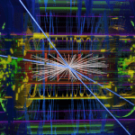 ATLAS experiment collision of protons