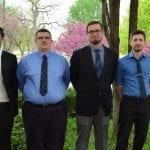 Sean Carr, Andrew Laubach, Robert Nordmark, Sky Pettett, and Joel Moore