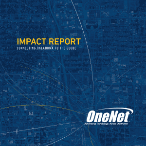 OneNet Impact Report Cover