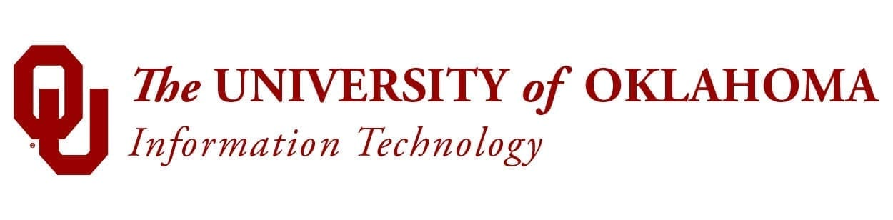The University of Oklahoma Information Technology logo