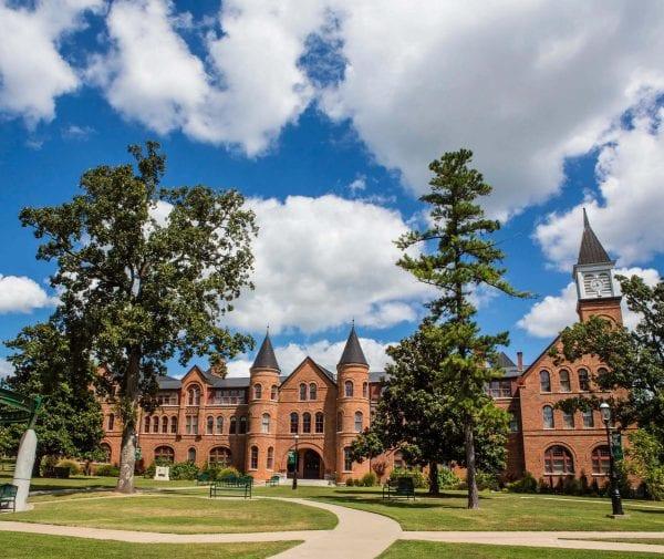 NSU campus building