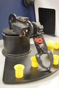 Robot in STEM lab