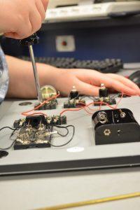 Student fixing circuit board