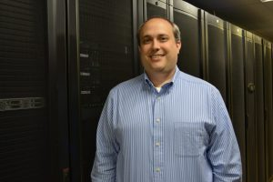 Brian in data center