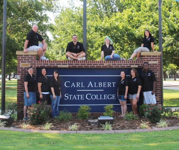 CASC Students on Campus