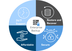 Enterprise Backup Service Wheel