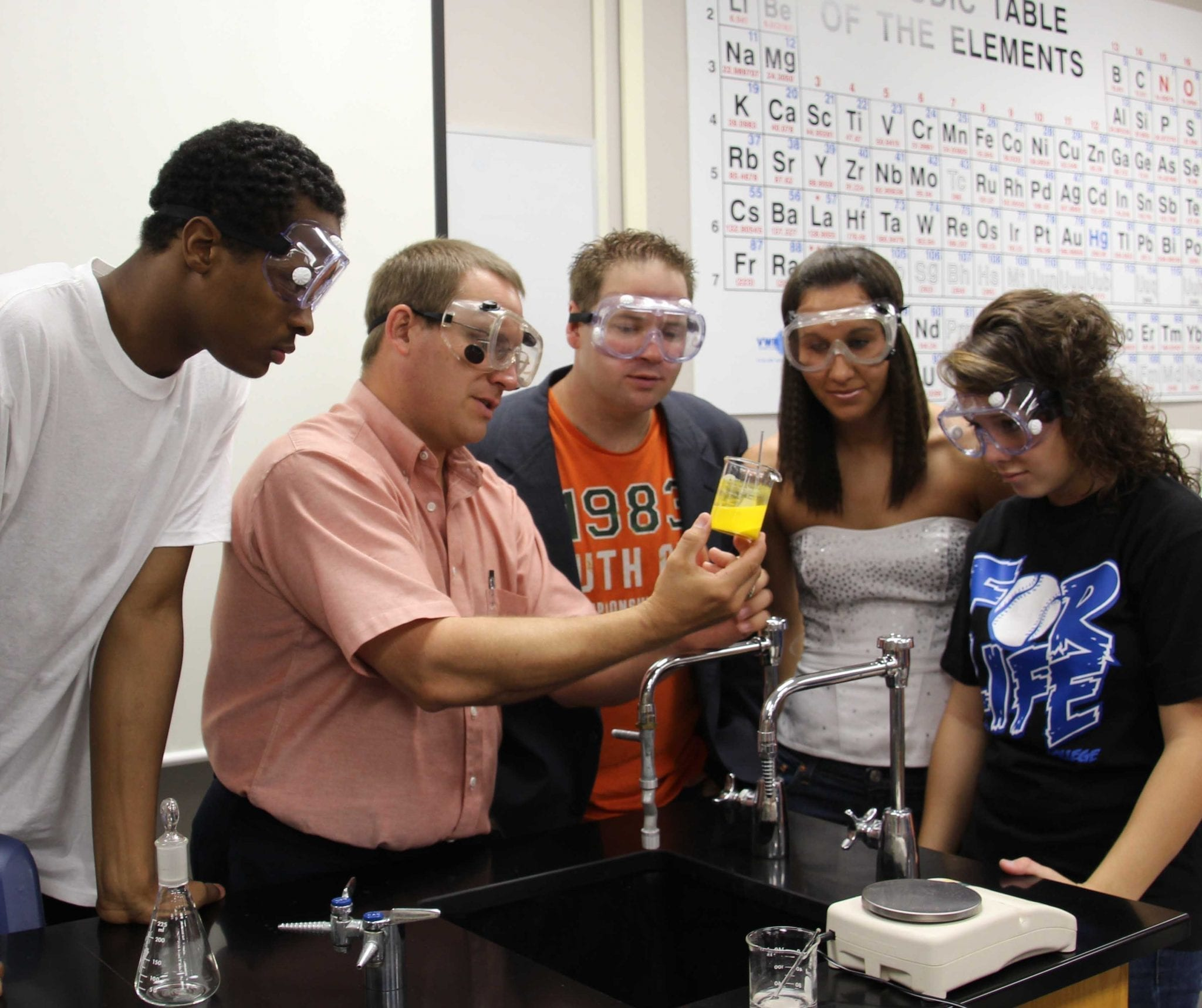 Science Students at Carl Albert State College