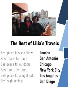Lilia travel spots