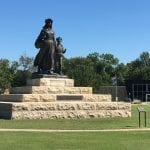 Pioneer Woman Statute in Ponca City