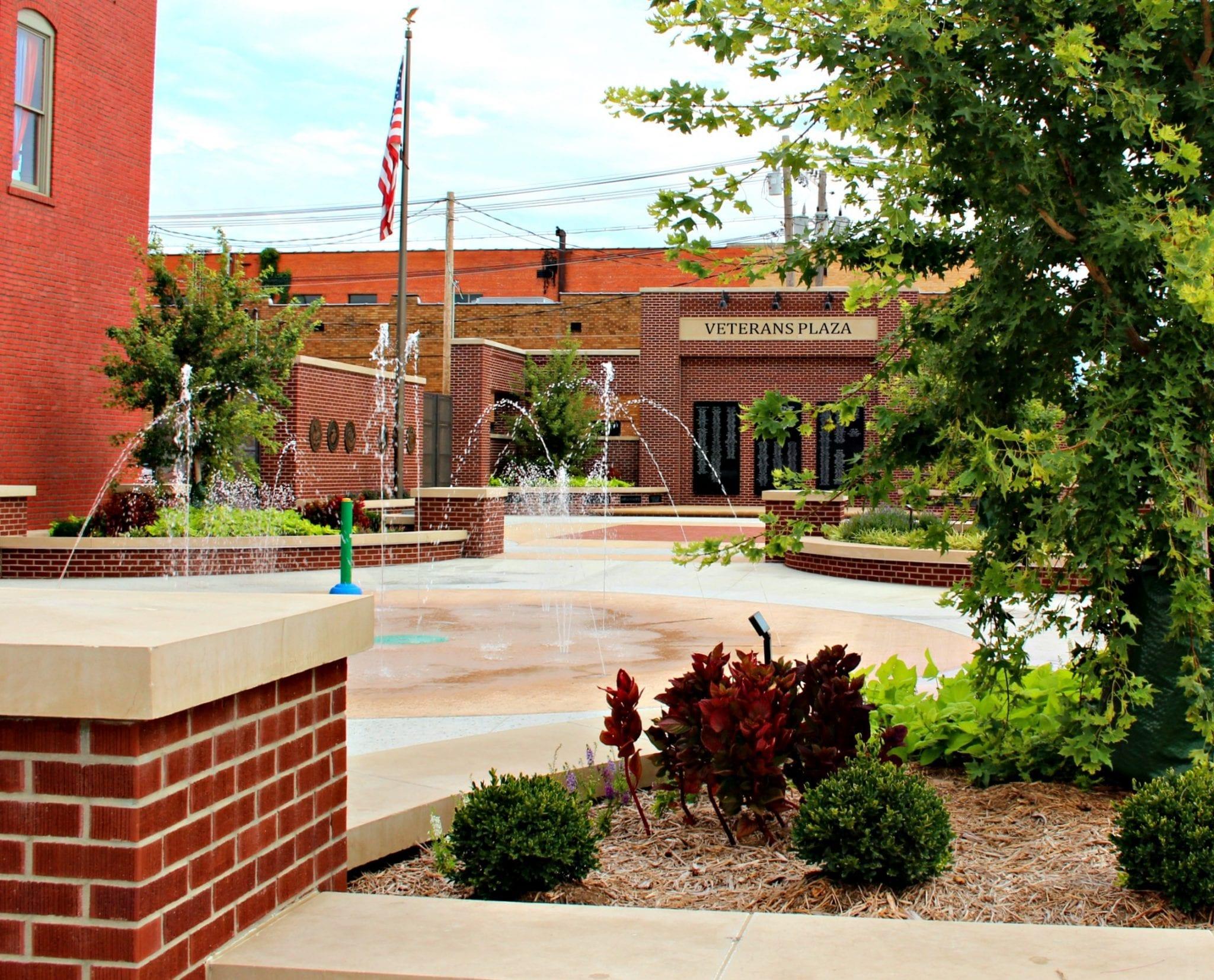 Veterans Plaza - Ponca City