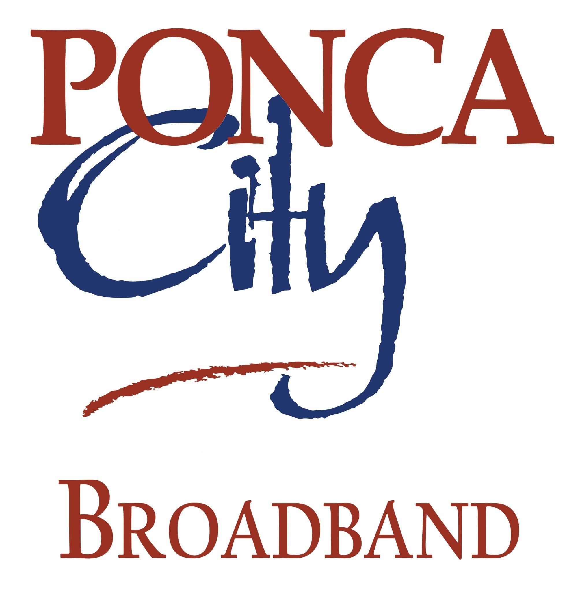 Ponca City Broadband Logo