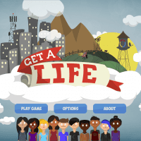 Get a life title screen