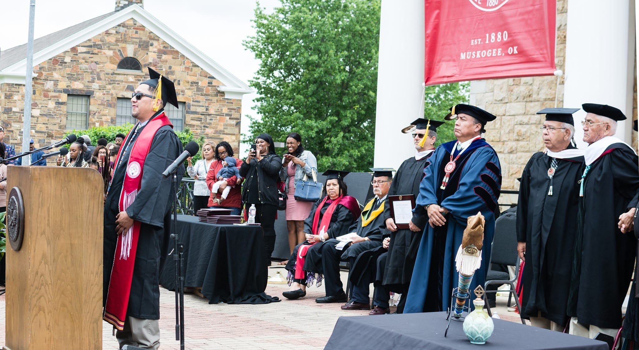 Graduation Ceremony at Bacone College
