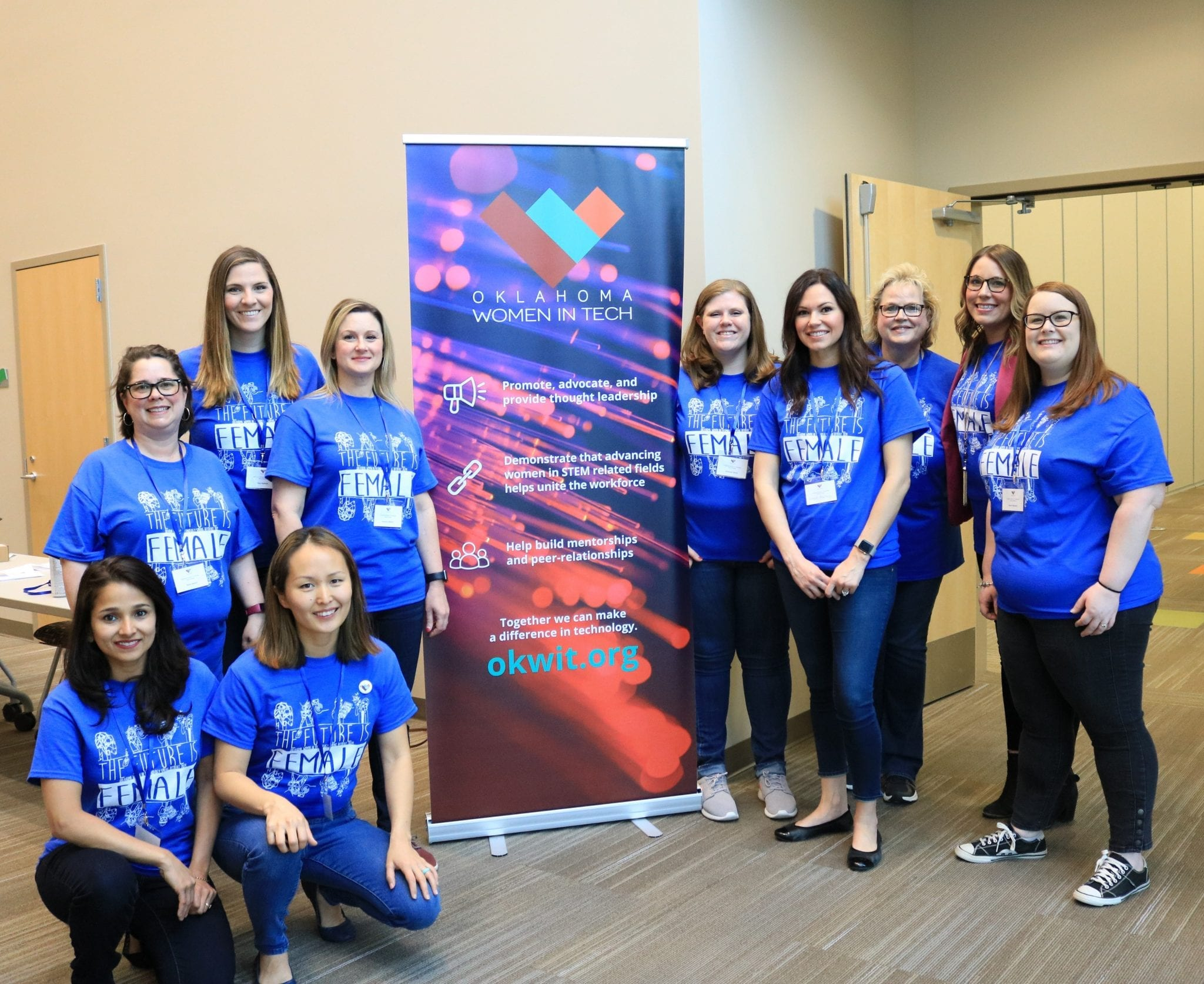 Students at OKWIT STEM Day Event