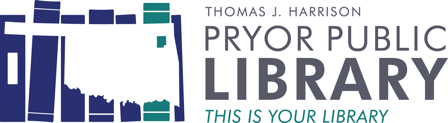 Pryor Public Library Logo