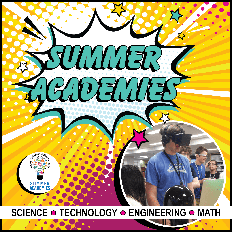 Summer Academies Graphic
