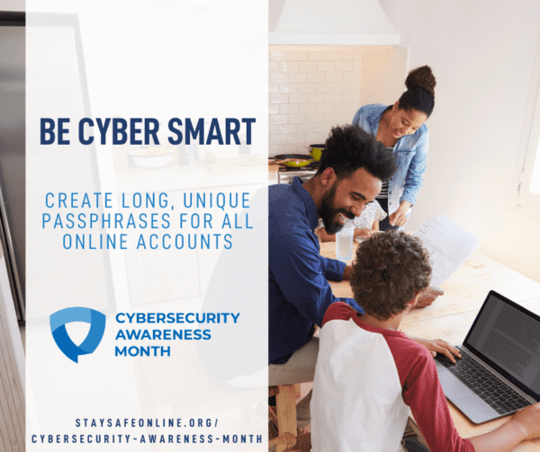 Be Cyber Smart Graphic